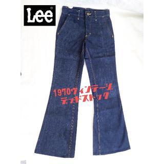リー(Lee)の70s デッドストック Lee ベルボトム(デニム/ジーンズ)