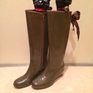 モスグリーン レインブーツ(レインブーツ/長靴)