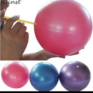バランスボール ジムボール 25㎝ 空気入れ付き ダイエット 減量 トレーニング(ヨガ)