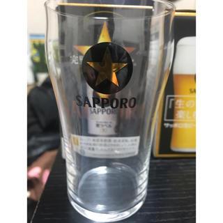 サッポロ(サッポロ)のサッポロビール 黒ラベルノベルティーグラス(グラス/カップ)