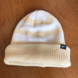 ナイキ(NIKE)の美品☆ナイキニット帽(ニット帽/ビーニー)