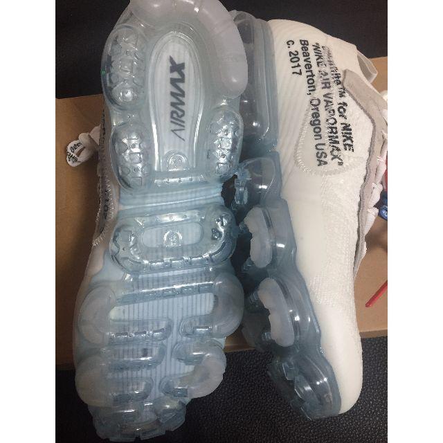 NIKE(ナイキ)のoff white nike vapor max AA3831-100 26.5 メンズの靴/シューズ(スニーカー)の商品写真