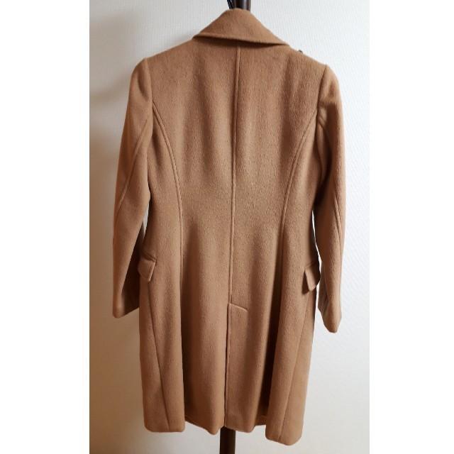 4℃(ヨンドシー)の4℃ キャメルカラーコート レディースのジャケット/アウター(ロングコート)の商品写真