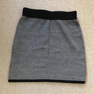 GU - 一度のみ使用 GU 千鳥柄スカート♡