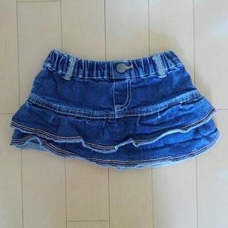 サンカンシオン(3can4on)の3can4on デニムスカート 子供服 キッズ サイズ95(スカート)