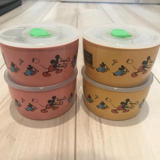 ディズニー(Disney)の☆DISNEY レンジパック4個セット 未使用品☆(容器)