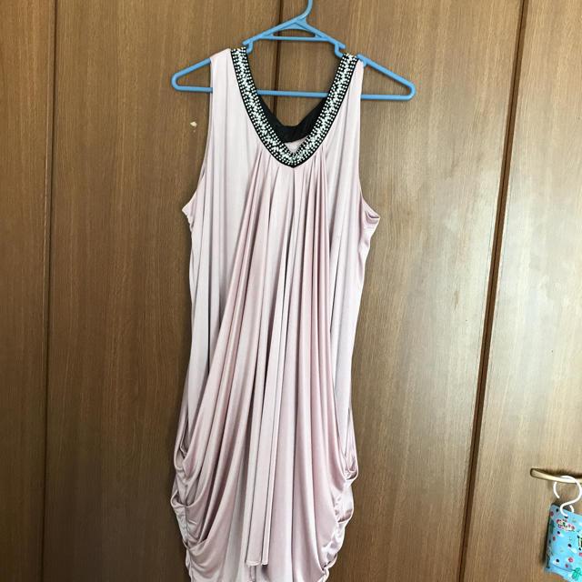 大きいサイズ ドレス レディースのフォーマル/ドレス(ミディアムドレス)の商品写真