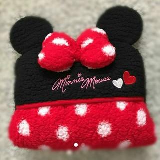 ディズニー(Disney)のミニーちゃん ポンチョ 毛布(ポンチョ)