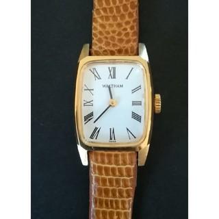 ウォルサム(Waltham)のWALTHAM ウォルサム 手巻き レディース腕時計(腕時計)