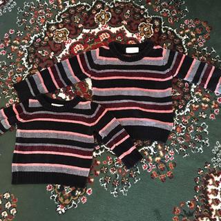 c3ba499631b0f コムサコレクション(COMME ÇA COLLECTION)の兄妹 姉妹 お揃いセーター(ニット)
