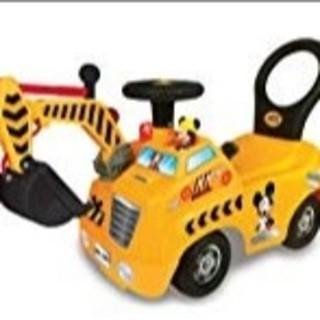 ディズニー(Disney)の新品 ディズニーライドオン ショベルカー(電車のおもちゃ/車)
