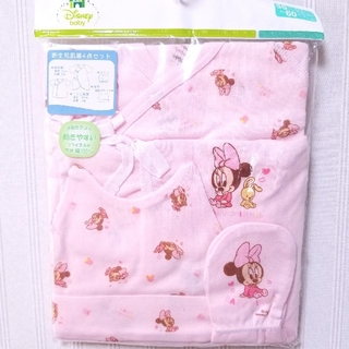 ディズニー(Disney)のディズニー♥50~60㎝ 新生児 肌着セット ミトン 帽子 新品 女の子(肌着/下着)