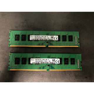 DDR4 2133 8GB×2 16GB 値下げ(PCパーツ)