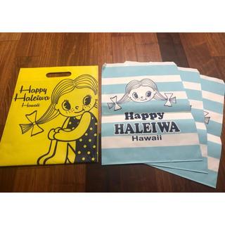 ハレイワ(HALEIWA)の☆美品☆Happy Haleiwa Hawaii ハッピーハレイワ ショップ袋☆(エコバッグ)