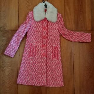 アイアイエムケー(iiMK)のピンクのコート(ロングコート)