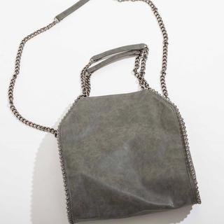 シマムラ(しまむら)のチェーンバッグ 人気商品 しまむら プチプラのあや ショルダーバッグ(ショルダーバッグ)