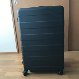 ムジルシリョウヒン(MUJI (無印良品))の無印良品 キャリーバーの高さを自由に調節できるストッパー付きハードキャリー(トラベルバッグ/スーツケース)