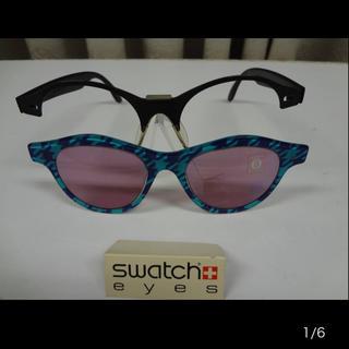 スウォッチ(swatch)の⑤新品◆Swatch eyes◆スウォッチ着せ替え90年代ヴィンテージサングラス(サングラス/メガネ)