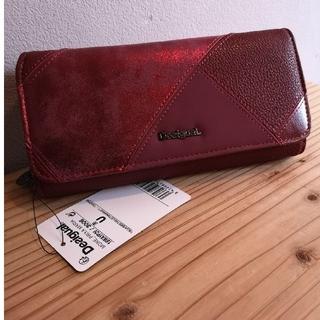 デシグアル(DESIGUAL)の最終値下げ✨Desigual✨長財布【⠀赤  】新品タグ付き(財布)