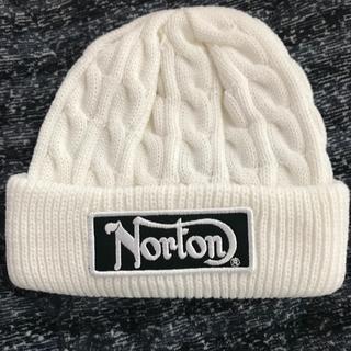 ノートン(Norton)の【新品】Norton ニット帽(ニット帽/ビーニー)