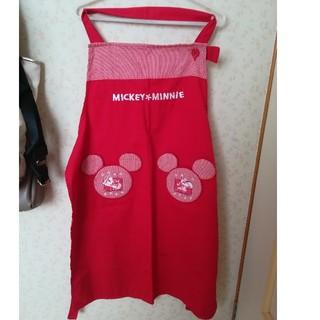 ディズニー(Disney)のミッキーエプロン(お食事エプロン)