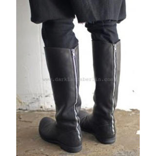 グイディ(GUIDI)のA1923 Back Zip Long Boots 40(ブーツ)