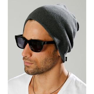 ダブルジェーケー(wjk)のwjk simple knit cap ニットキャップ 定価8,640円 フリー(ニット帽/ビーニー)