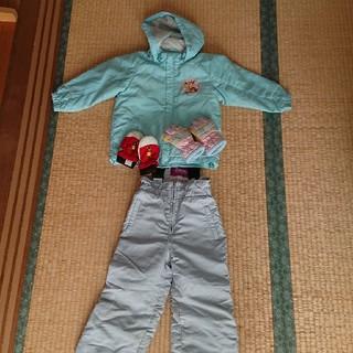 ディズニー(Disney)のスキーウェア セット 手袋付き(ウエア)