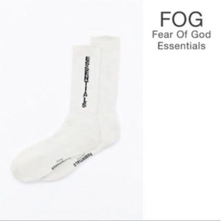 フィアオブゴッド(FEAR OF GOD)のFear Of God Essentials Crew socks(ソックス)