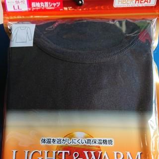 しまむら - しまむら ファイバーヒート 長袖丸首シャツ