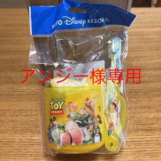 ディズニー(Disney)のトイストーリー 歯磨きセット(歯ブラシ/歯みがき用品)