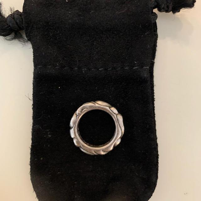Chrome Hearts(クロムハーツ)のクロムハーツ スクロール リング 2号 メンズのアクセサリー(リング(指輪))の商品写真