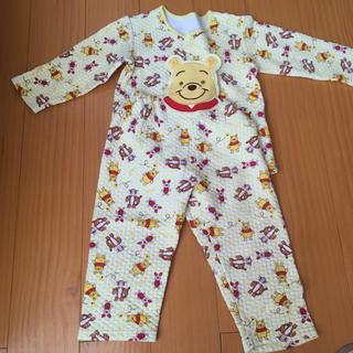 ディズニー(Disney)のプーさん☆冬物 パジャマ 95(パジャマ)