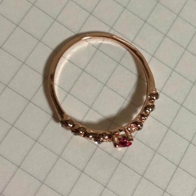 クリスタルリング レディースのアクセサリー(リング(指輪))の商品写真
