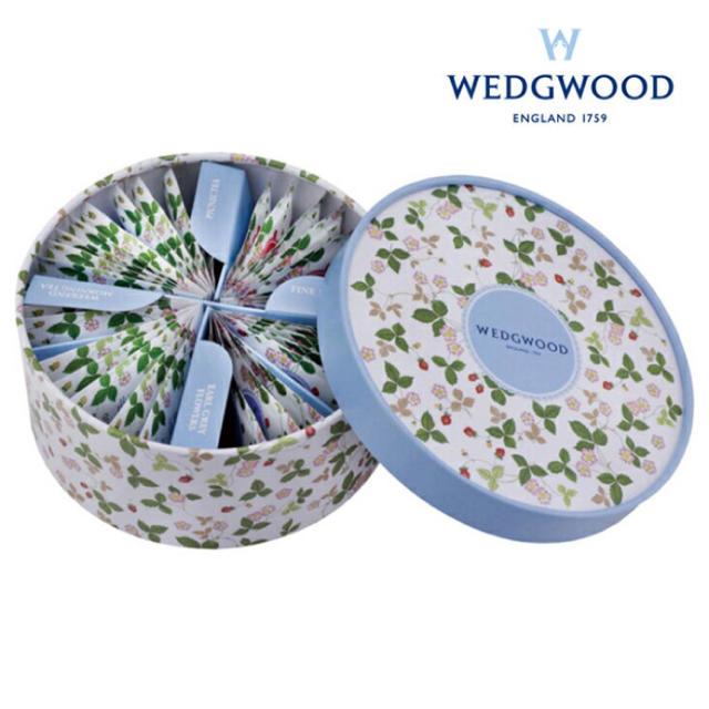 WEDGWOOD(ウェッジウッド)の(値引きあり) ウェッジウッド ティーバッグ アソート(4種) 36個入セット 食品/飲料/酒の飲料(茶)の商品写真
