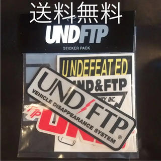 UNDEFEATED - Undefeted FTP STICKER PACK アンディフィーテッド