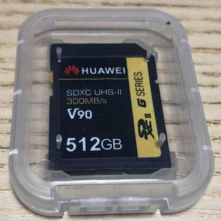 新品 未使用 HUAWEI SDカード 512GB(PC周辺機器)