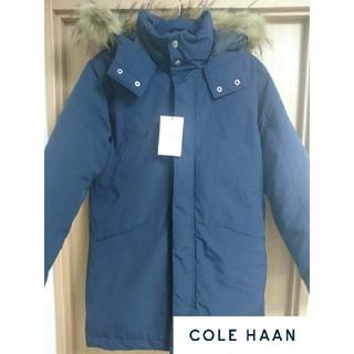 コールハーン(Cole Haan)の【新品タグ付き】コールハーン ダウンジャケット インポートSサイズ 紺(ダウンジャケット)