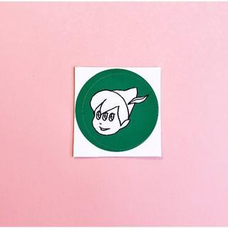 kyorome ステッカー2枚組セット(組みあわせ自由)no.6 小(しおり/ステッカー)