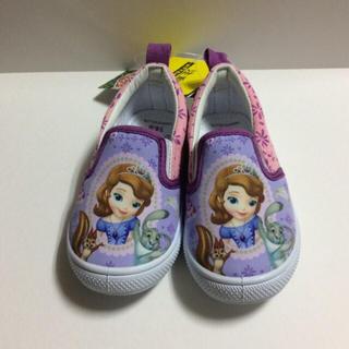 ディズニー(Disney)の新品.ちいさなプリンセスソフィアスリッポン 14cm.女の子スリッポン 14cm(スリッポン)