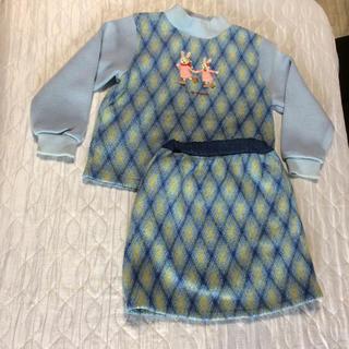 クラウンバンビ(CROWN BANBY)のクラウンバンビ  トレーナー スカート セット(Tシャツ/カットソー)