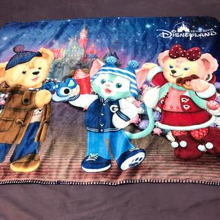 ディズニー(Disney)のダッフィー  ジェラトーニ シェリーメィ ブランケット 香港ディズニークリスマス(おくるみ/ブランケット)