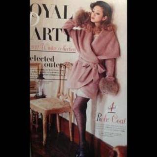 ロイヤルパーティー(ROYAL PARTY)のROYALPARTY♡ローブコート♡雑誌掲載ゆんころ着(毛皮/ファーコート)