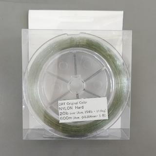 drt ナイロンライン 20lb  グリーン 使いかけ(釣り糸/ライン)