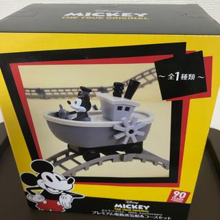 ディズニー(Disney)のディズニー ミッキーマウス プレミアム 電動蒸気船&コースセット(電車のおもちゃ/車)