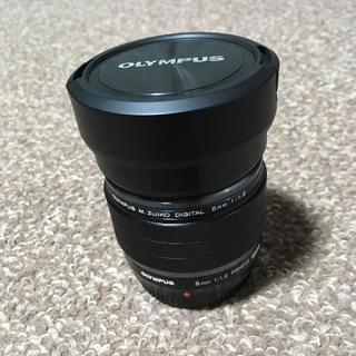 オリンパス(OLYMPUS)のm.zuiko 8mm f1.8 フィッシュアイ レンズ(レンズ(単焦点))
