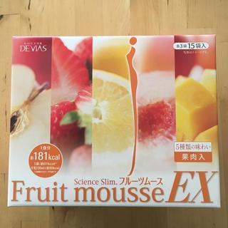 ドクターデヴィアス(ドクターデヴィアス)のドクターデヴィアス☆science slim  フルーツムース 1箱(ダイエット食品)