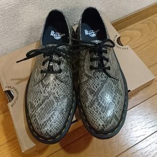 ドクターマーチン(Dr.Martens)の【新品】Dr.Martens★1461パイソン★サイズ4(ローファー/革靴)
