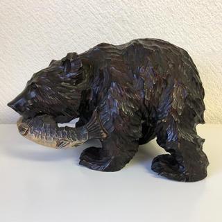 木彫りの熊 荒良作(彫刻/オブジェ)