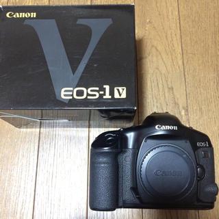 キヤノン(Canon)のEOS-1V(フィルムカメラ)
